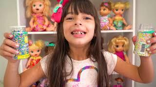 Laurinha e aniversário do Papai - Laurinha and dad's birthday - Лауринья и день рождения папы