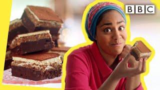 Nadiya&#39s indulgent chocolate brownie recipe  Nadiya Bakes - BBC