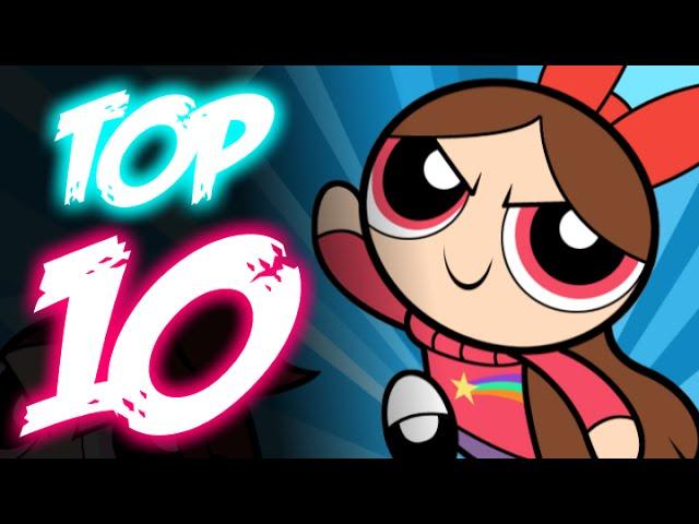 Top 10 Gravity Falls Crossover Fanart Gravity Falls