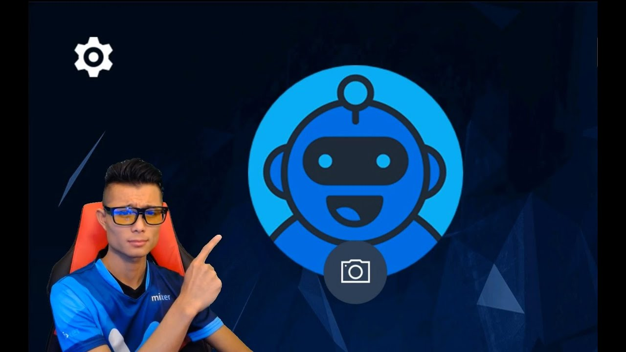 Mixer: change your profile picture - YouTube