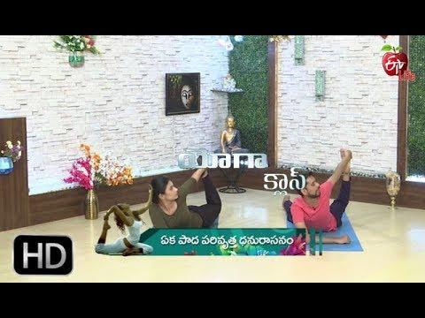 yoga class  eka pada parivrtta dhanurasana  3rd april
