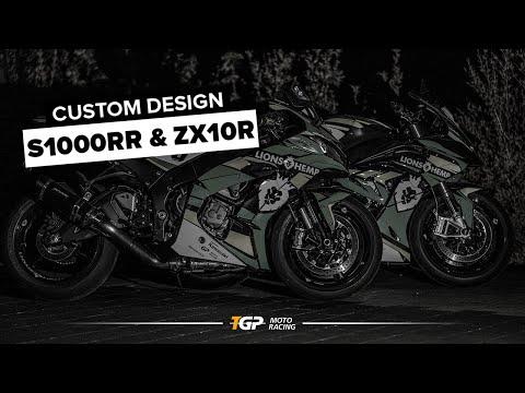 Kunden Reagieren Auf CUSTOM DESIGNED S1000RR Und ZX10R Made By Folienwerk | TGP MotoRacing
