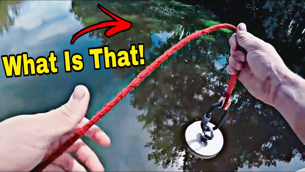 Rare Once In A LIFETIME Magnet Fishing Catch - You Won't Believe What I Found!!!