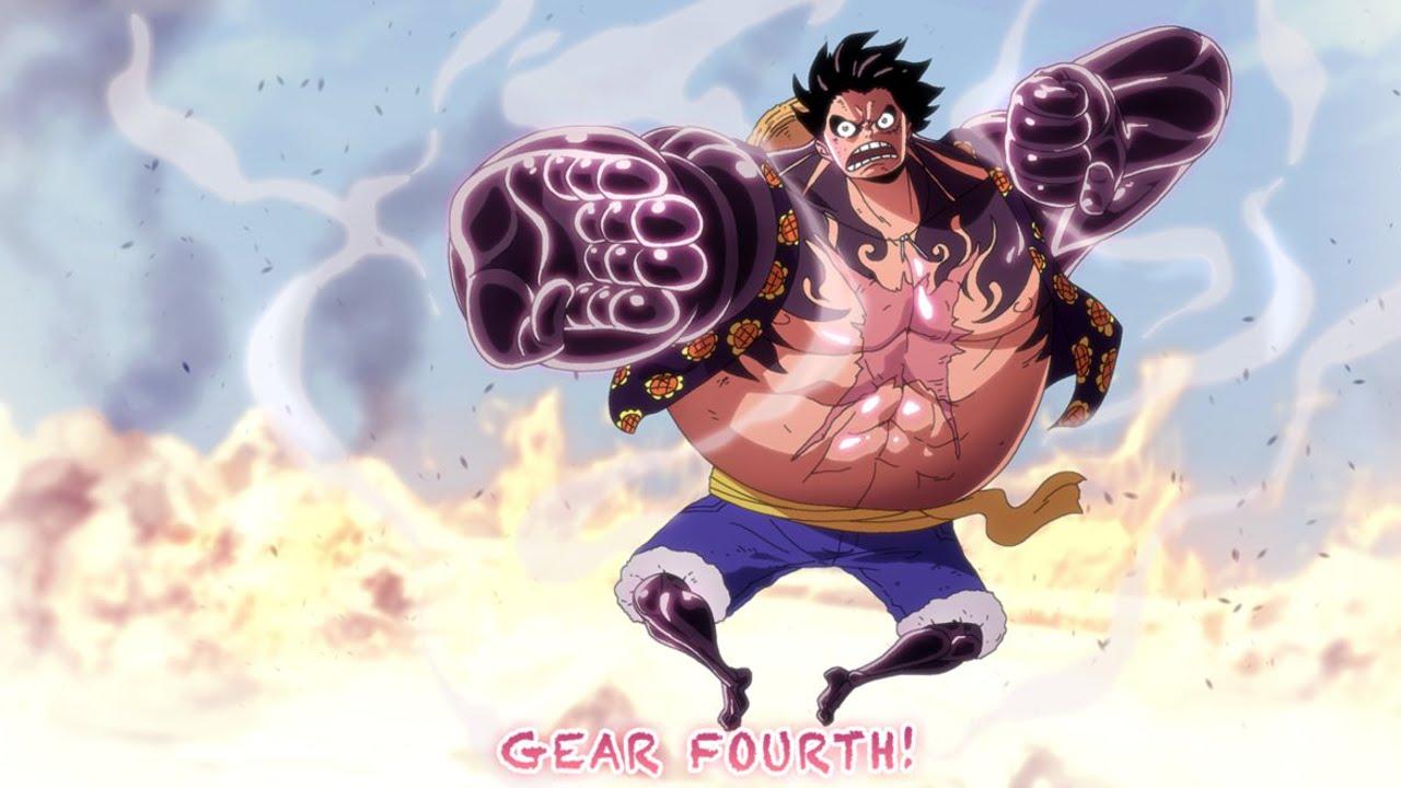 OMFG GEAR FOURTH ACTIV... One Piece Wallpaper Luffy Gear Fourth