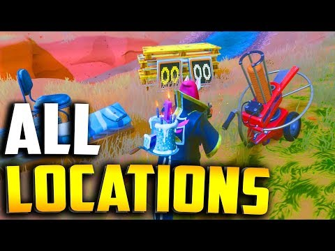 ALL CLAY PIGEON LOCATIONS In Fortnite!