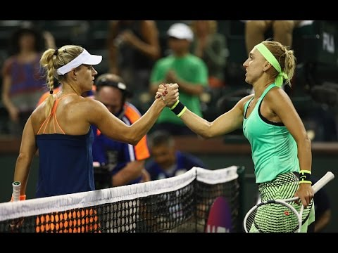 2017 BNP Paribas Open Round of 16 | Vesnina vs Kerber | WTA Highlights