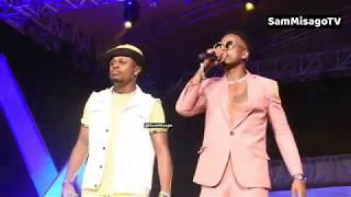 KINGS MUSIC Walioonyesha Mafundi Yao Kwenye Stage Ya Fiesta Dar Es Salaam