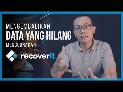 Mengembalikan File Yang Hilang Dengan RECOVERIT Data Recovery