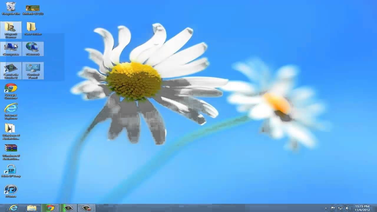 How to add my computer icon on desktop in windows 8 youtube