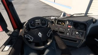 [ETS2 v1.40] Interior Driver Mod 1.10 Right Side Steering