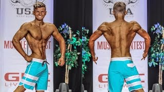MY FIRST MENS PHYSIQUE SHOW AT 16 YEARS OLD