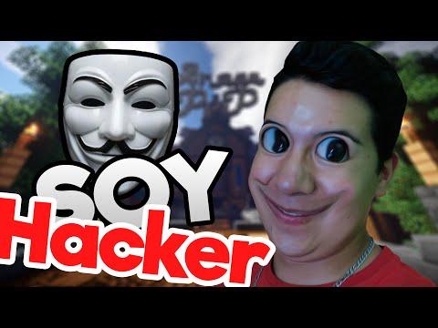 COMO SE VE MINECRAFT CON HACKS  Usando Hacks En Minecraft!!