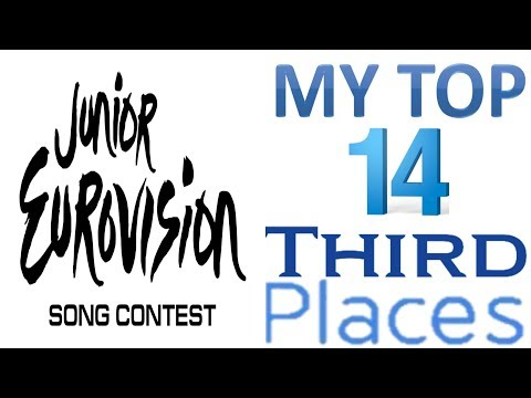 Junior Eurovision 2003 - 2017:My Top 14 Third Places