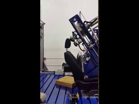 FMVSS 202A Headrest Strength Tester