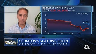 Fraud stock? Scorpion issues scathing warning on Berkeley Lights