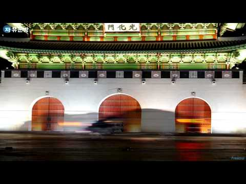 #48. KOREA TIMELAPSE(타임랩스) 4k, 광화문 야경, korea trip & travel
