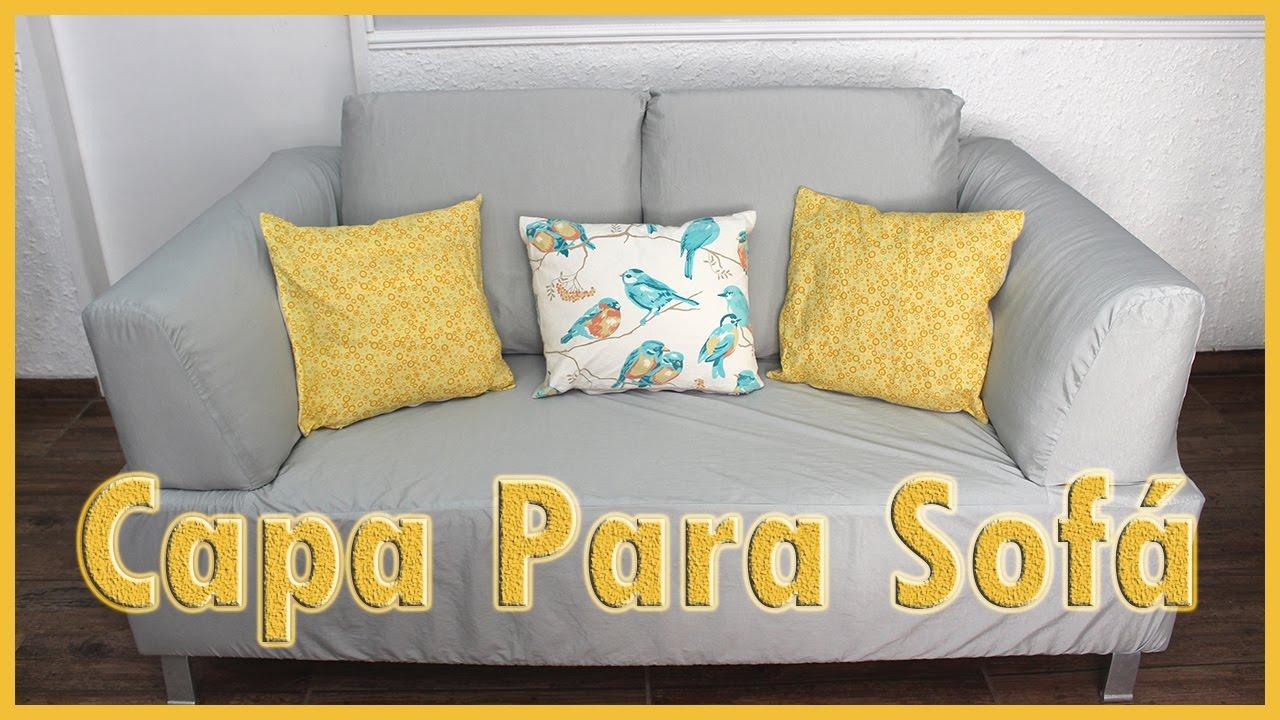 a61a5d355cd Capa para Sofá, Como Fazer de Maneira Simples e fácil ( DIY ) - YouTube