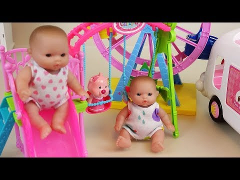 Thumbnail: Baby Doli play park and house toys baby doll play