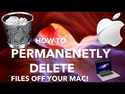How to permanently delete photos from imac