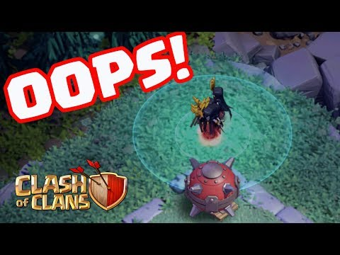 Thumbnail: EPIC Troll Mines Destroy Mass Night Witches- Funny Moments in Clash of Clans!