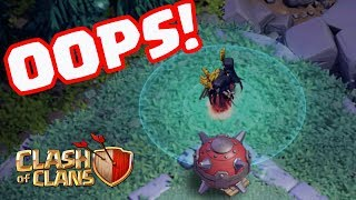 EPIC Troll Mines Destroy Mass Night Witches- Funny Moments in Clash of Clans!