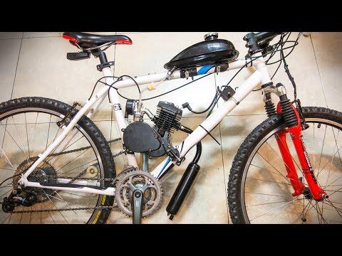 TUTORIAL BICIMOTO | Como Montar un Motor de Gasolina en tu Bicicleta | Kit 80cc