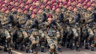 Hell March 2019 of Indian Army,Navy,Air force || 70th Republic Day Of India