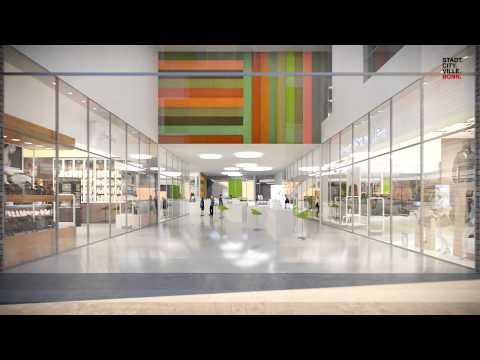 Bahnhofsvorplatz Bonn – Zukunft. Avenir. Future. Bonn