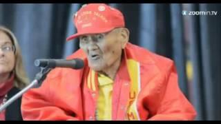 Chester Nez, el último integrante del grupo del código navajo - www.tispain.com