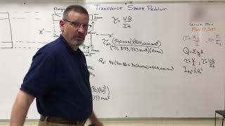 Solids: Lesson 31 - Transverse Shear Plotted