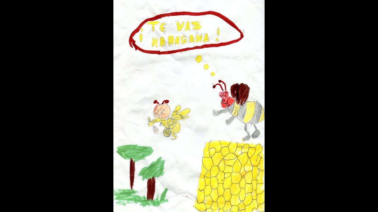 la abeja haragana  YouTube