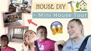 HOUSE DIY SHOPPING & MINI HOUSE TOUR UPDATE | Couple's Vlog