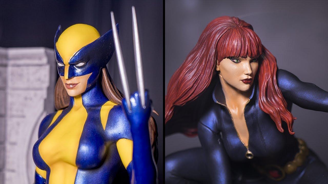 Marvel Gallery X-23 and Black Widow Statues (Diamond ... X 23 Marvel