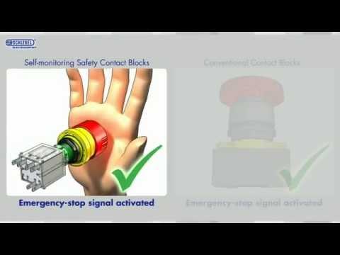 self-monitoring emergency-stop contact blocks - Georg Schlegel GmbH