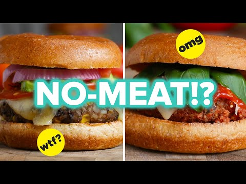 8 Amazing Veggie Burgers