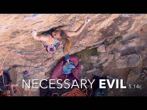 Michaela Kiersch | First Female Ascent | Necessary Evil 5.14c