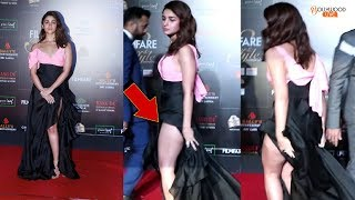 Alia Bhatt EMBARRASSING Moment  At Filmfare Style & Glamour Awards 2019  MUST WATCH   Bollywood Live