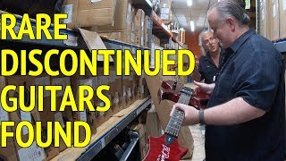 WAREHOUSE HUNT!  LOST BC Rich, Ibanez & other Guitars FOUND!