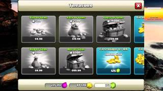 Real Updated 2014 Gem Glitch On Clash Of Clans! No jailbreak survey or password
