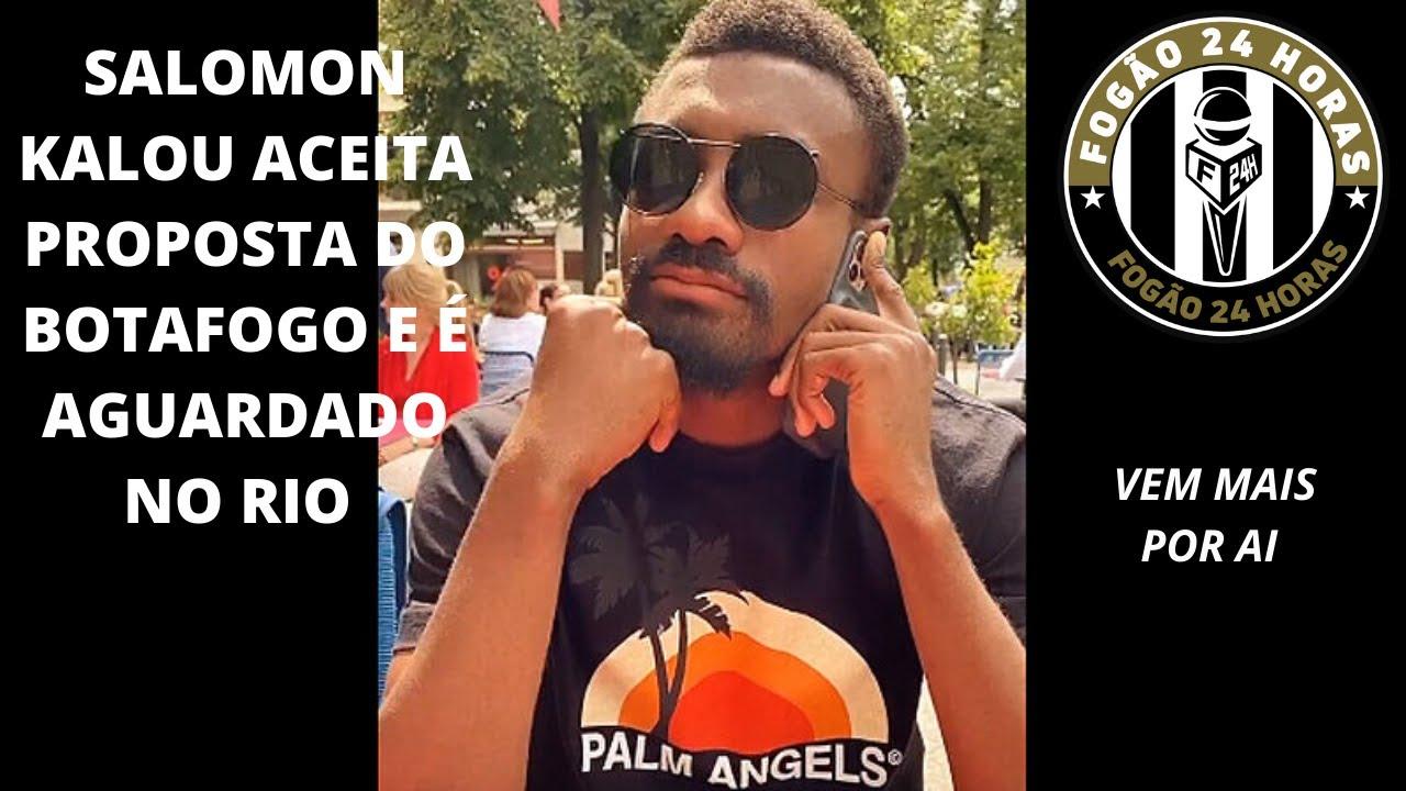 SALOMON KALOU ACEITA PROPOSTA DO BOTAFOGO E É AGUARDADO NO RIO.