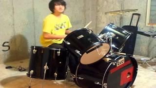 "Drums - ""Set of Three"" Improv!"