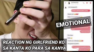 REACTION NI JAI SA KANTA KO PARA SA KANYA (Emotional)