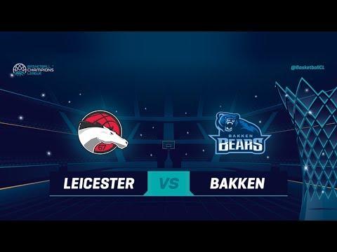 Leicester Riders v Bakken Bears - Full Game - Qualif. Rd. 1 - Basketball Champions League 2018