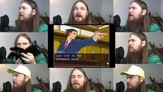 Repeat youtube video Phoenix Wright - Cornered Acapella