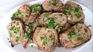 How to bske eggplant, (Eggplant biscuit)