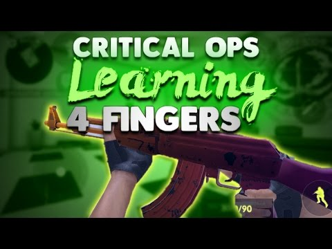 Critical Ops - LEARNING TO PLAY WITH 4 FINGERS! (claw)