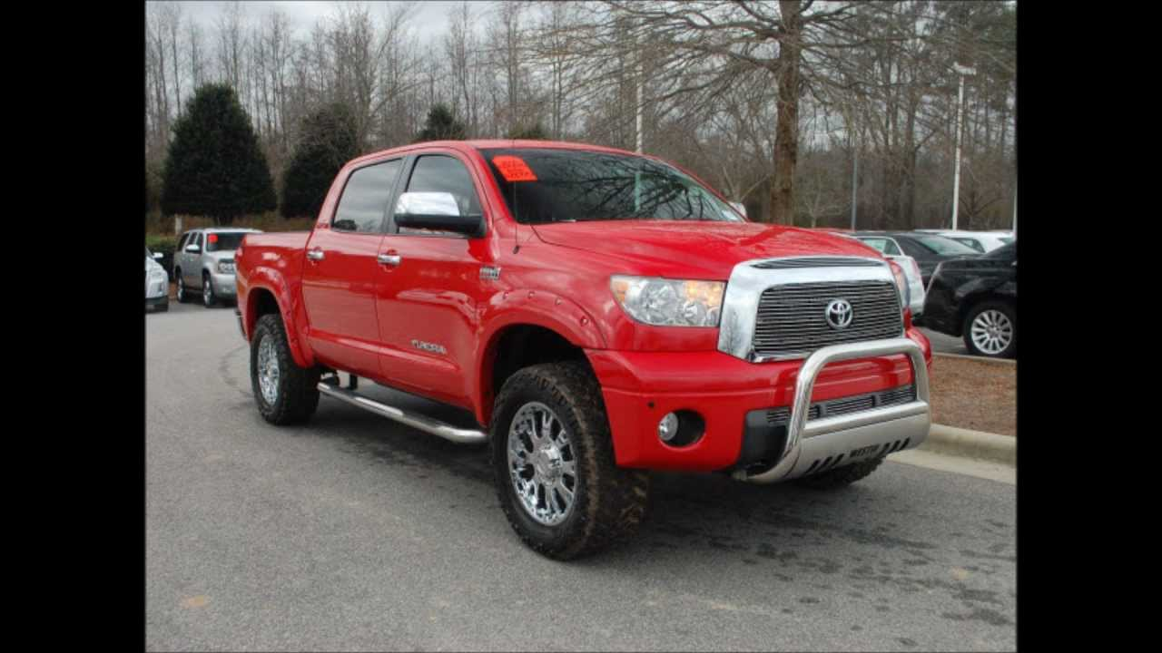 used 2008 toyota tundra limited lifted truck for sale. Black Bedroom Furniture Sets. Home Design Ideas