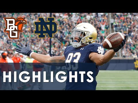 Bowling Green Vs. Notre Dame | EXTENDED HIGHLIGHTS | 10/5/19 | NBC Sports