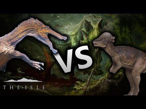 The Isle: Baryonyx vs Pachycephalosaurus {Ep.123}