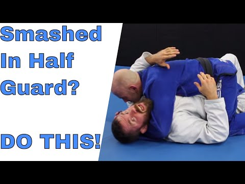 How To Stop Getting Smashed in Half Guard Bottom